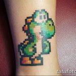 фото тату из пикселей 27.03.2019 №020 - tattoo pixel - tatufoto.com