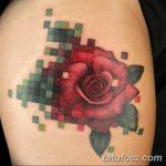 фото тату из пикселей 27.03.2019 №021 - tattoo pixel - tatufoto.com
