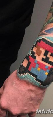 фото тату из пикселей 27.03.2019 №038 – tattoo pixel – tatufoto.com