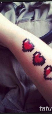 фото тату из пикселей 27.03.2019 №039 – tattoo pixel – tatufoto.com