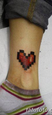 фото тату из пикселей 27.03.2019 №059 – tattoo pixel – tatufoto.com