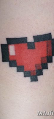 фото тату из пикселей 27.03.2019 №065 – tattoo pixel – tatufoto.com