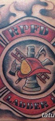 фото тату пожарных 29.03.2019 №034 – fireman tattoo – tatufoto.com