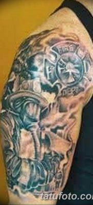 фото тату пожарных 29.03.2019 №035 – fireman tattoo – tatufoto.com