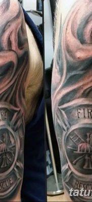 фото тату пожарных 29.03.2019 №037 – fireman tattoo – tatufoto.com