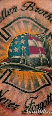 фото тату пожарных 29.03.2019 №040 – fireman tattoo – tatufoto.com