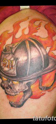 фото тату пожарных 29.03.2019 №043 – fireman tattoo – tatufoto.com