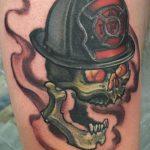 фото тату пожарных 29.03.2019 №045 - fireman tattoo - tatufoto.com