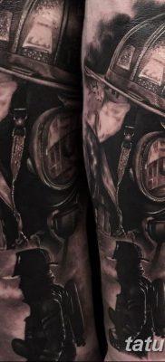 фото тату пожарных 29.03.2019 №046 – fireman tattoo – tatufoto.com