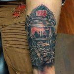 фото тату пожарных 29.03.2019 №048 - fireman tattoo - tatufoto.com