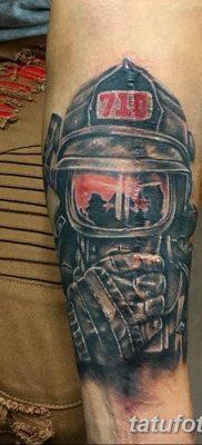 фото тату пожарных 29.03.2019 №048 – fireman tattoo – tatufoto.com
