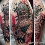 фото тату пожарных 29.03.2019 №051 - fireman tattoo - tatufoto.com
