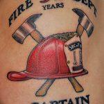 фото тату пожарных 29.03.2019 №052 - fireman tattoo - tatufoto.com