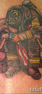 фото тату пожарных 29.03.2019 №055 – fireman tattoo – tatufoto.com