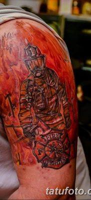 фото тату пожарных 29.03.2019 №057 – fireman tattoo – tatufoto.com