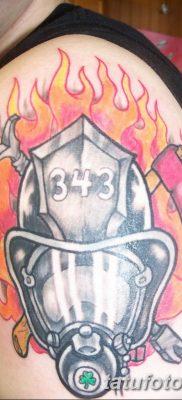 фото тату пожарных 29.03.2019 №060 – fireman tattoo – tatufoto.com