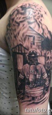 фото тату пожарных 29.03.2019 №061 – fireman tattoo – tatufoto.com