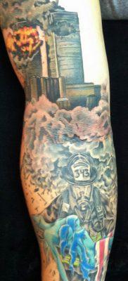 фото тату пожарных 29.03.2019 №063 – fireman tattoo – tatufoto.com