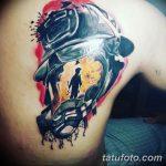 фото тату пожарных 29.03.2019 №067 - fireman tattoo - tatufoto.com