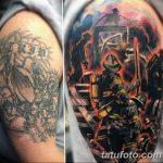 фото тату пожарных 29.03.2019 №069 - fireman tattoo - tatufoto.com