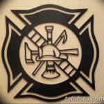 фото тату пожарных 29.03.2019 №072 - fireman tattoo - tatufoto.com