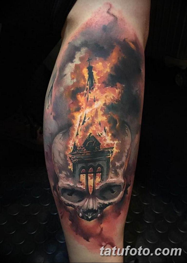 Фото тату пожарных: коллекция готовых рисунков татуировки ... | 1076x768