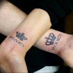 фото тату римские цифры 05.03.2019 №016 - photo tattoo roman numerals - tatufoto.com
