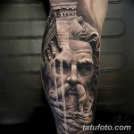 фото тату скульптура (статуя) 06.03.2019 №278 - tattoo sculpture (statue) - tatufoto.com