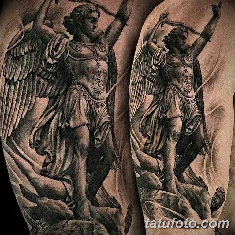 archangel michael tattoo - 720×720