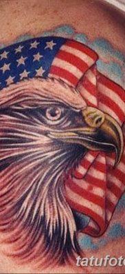 фото тату флаг 03.03.2019 №071 — идея для рисунка тату с флагом — tatufoto.com