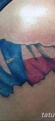 фото тату флаг 03.03.2019 №086 — идея для рисунка тату с флагом — tatufoto.com
