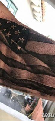 фото тату флаг 03.03.2019 №097 — идея для рисунка тату с флагом — tatufoto.com