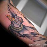 фото тату чайка 06.03.2019 №035 - photo tattoo seagull - tatufoto.com