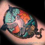 фото тату чайка 06.03.2019 №036 - photo tattoo seagull - tatufoto.com