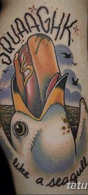 фото тату чайка 06.03.2019 №042 – photo tattoo seagull – tatufoto.com