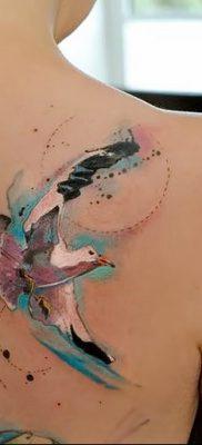 фото тату чайка 06.03.2019 №047 – photo tattoo seagull – tatufoto.com