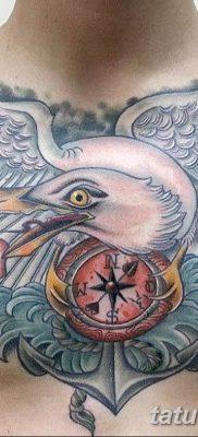 фото тату чайка 06.03.2019 №066 – photo tattoo seagull – tatufoto.com