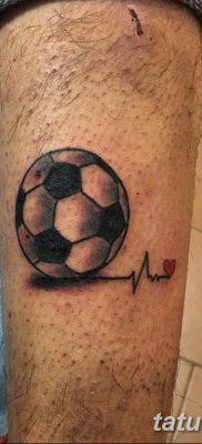 фото футбольный мяч 29.03.2019 №081 – tattoo soccer ball – tatufoto.com