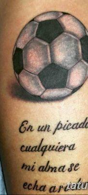 фото футбольный мяч 29.03.2019 №082 – tattoo soccer ball – tatufoto.com