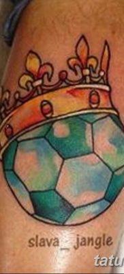фото футбольный мяч 29.03.2019 №086 – tattoo soccer ball – tatufoto.com
