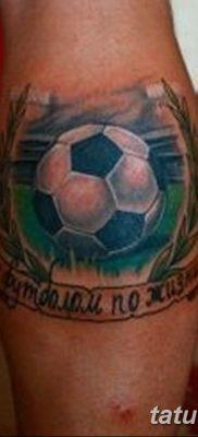 фото футбольный мяч 29.03.2019 №088 – tattoo soccer ball – tatufoto.com
