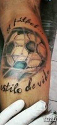 фото футбольный мяч 29.03.2019 №089 – tattoo soccer ball – tatufoto.com