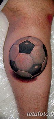 фото футбольный мяч 29.03.2019 №091 – tattoo soccer ball – tatufoto.com