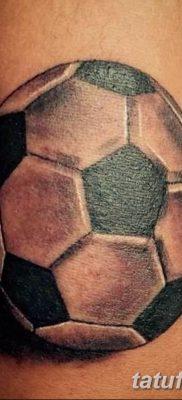 фото футбольный мяч 29.03.2019 №092 – tattoo soccer ball – tatufoto.com