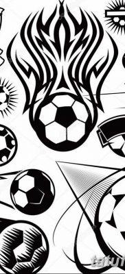 фото футбольный мяч 29.03.2019 №093 – tattoo soccer ball – tatufoto.com