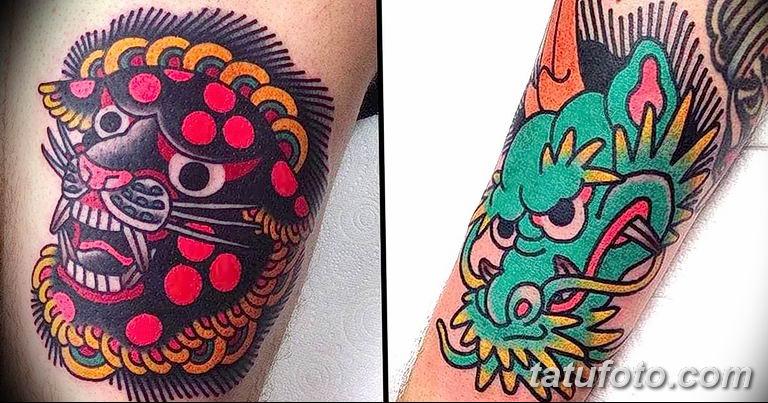 фото яркой татуировки 04.03.2019 №045 - photo bright tattoo - tatufoto.com