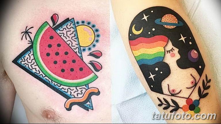 фото яркой татуировки 04.03.2019 №081 - photo bright tattoo - tatufoto.com