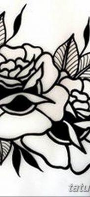 черно белый эскиз тату в стиле олд скул 11.03.2019 №015 – tattoo sketch – tatufoto.com