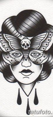 черно белый эскиз тату в стиле олд скул 11.03.2019 №023 – tattoo sketch – tatufoto.com
