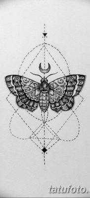 черно белый эскиз тату геометрия 09.03.2019 №002 – tattoo sketch – tatufoto.com